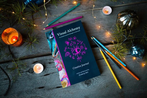 Viusal Alchemy Creative Journal illustrated by Kimberly Heil