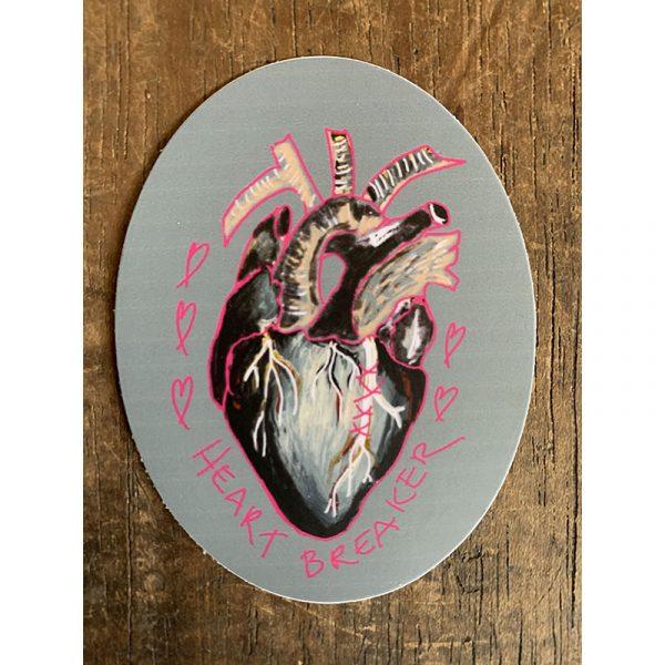 Heartbreaker Sticker - Designed by Artist Kimberly Heil