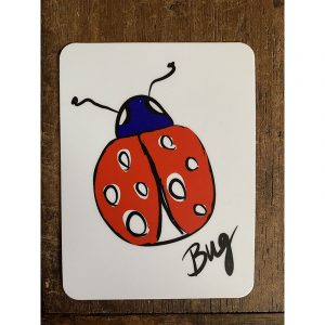 Lady Bug Sticker - Designed by Artist Kimberly Heil