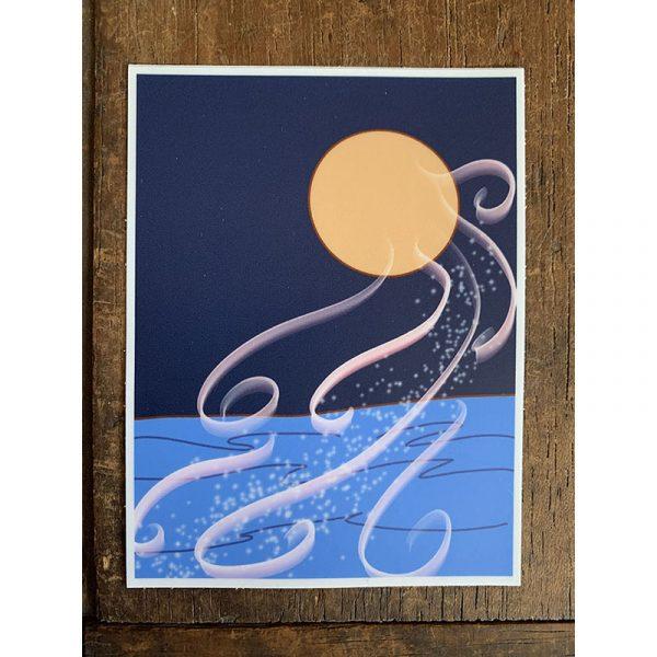 Moon Magic Sticker - Designed by Artist Kimberly Heil